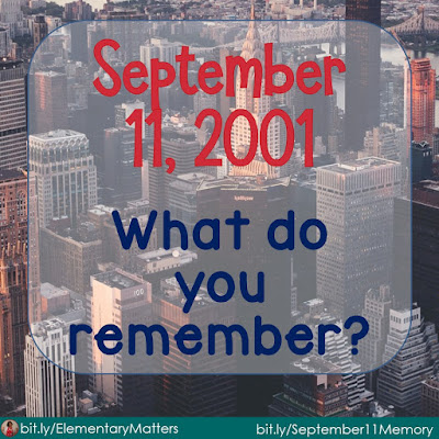 September 11, 2001: What do you remember? This post compares my experience in 2001 to another experience, way back in 1963.  What do you remember about this horrendous day?