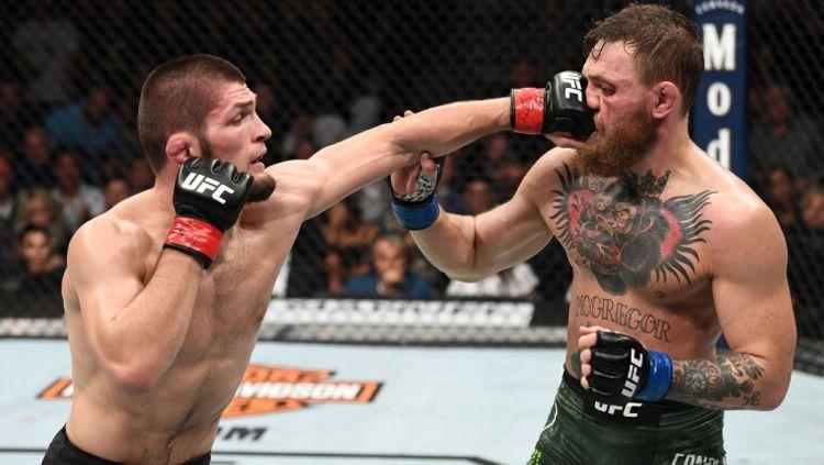 Conor McGregor reacts to Khabib Nurmagomedov's retirement