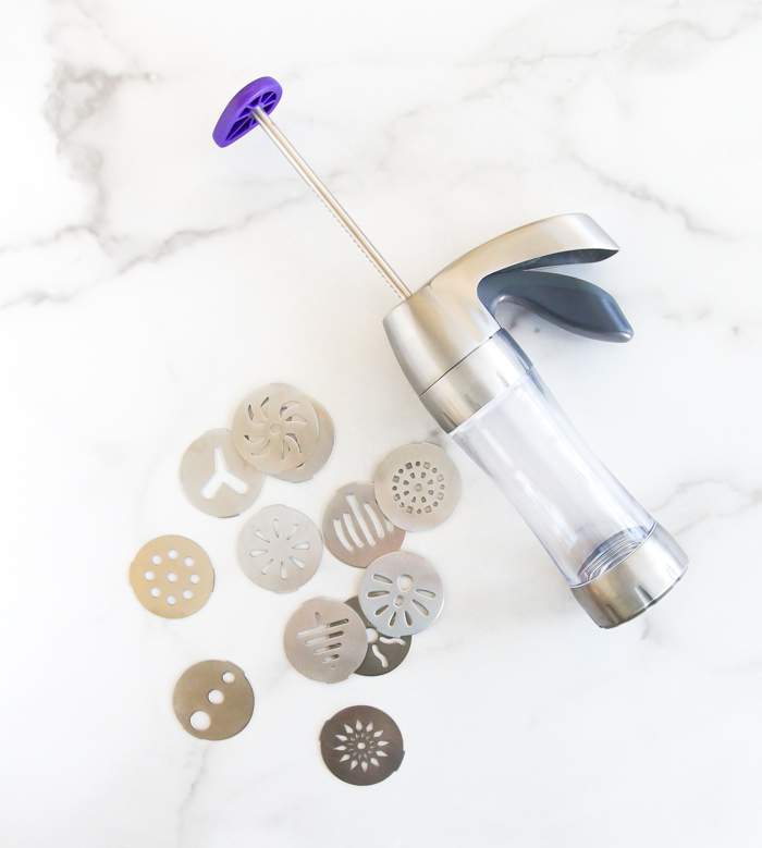 Wilton cookie press for spritz cookies