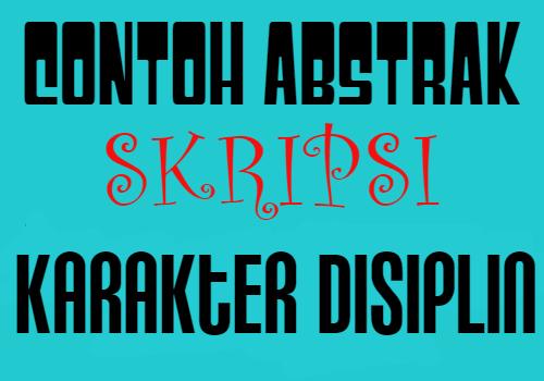 abstrak-skripsi-karakter-disiplin