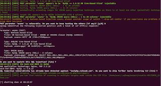SQLMAP --forms Atack - Téchne Digitus