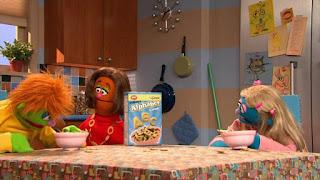 Super K Cereal, Anything Muppets, letter K, Sesame Street Episode 4316 Finishing the Splat season 43
