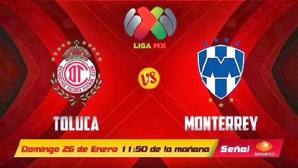 Toluca vs Monterrey en Vivo