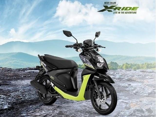 Penyegaran Yamaha X-Ride 125 Hadirkan Tunggangan Adventure yang Sporty dan Agresif