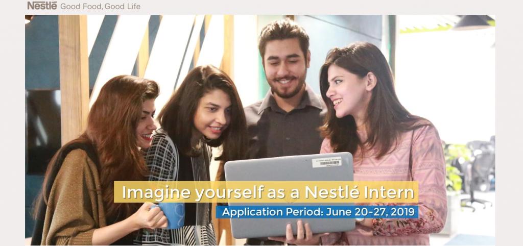 Nestle Pakistan Internship Program 2019 Apply Online Latest