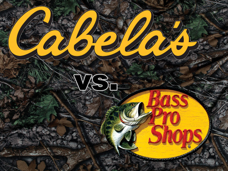 Cabela 39 s vs bass pro shops for Cabela s fishing boats