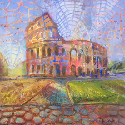 The Colosseum Painting