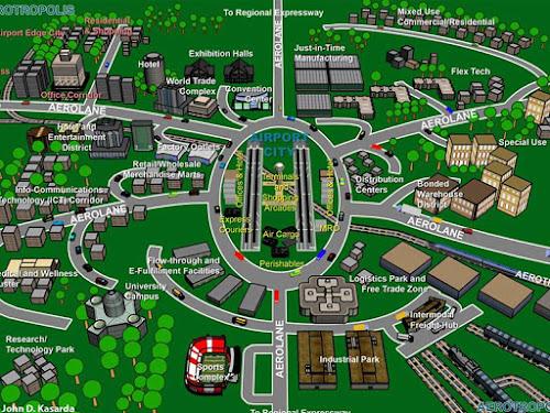 Konsep Aerocity Bandara Kertajati