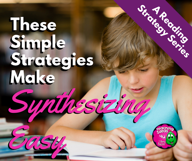 Students need to learn how to synthesize information, including what they already know and new facts from reading and discussions. In this blog post, you will earn three different methods to teach synthesizing to students.