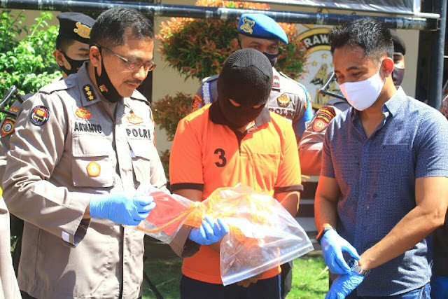 Polisi ungkap pembunuhan mahasiswi Unram. Ceritanya tragis