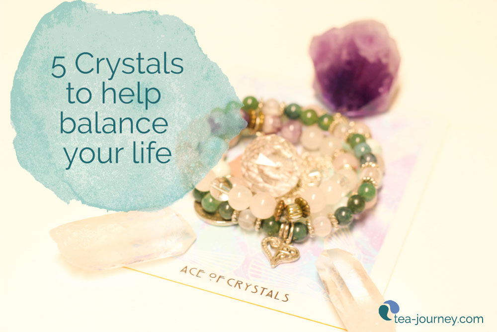 Crystals have different vibrations which can help us balance our lives. Their metaphysical and spiritual properties may assist with health and  emotional balances. Pick up a stone and try it out.