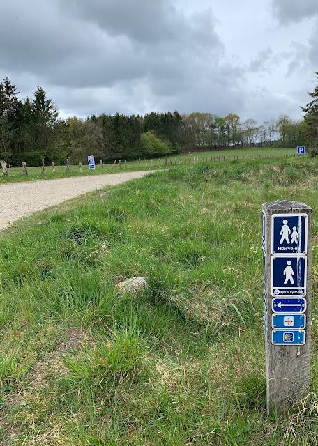 Hærvejen, Bindeballestien og Kyst til Kyst-stien