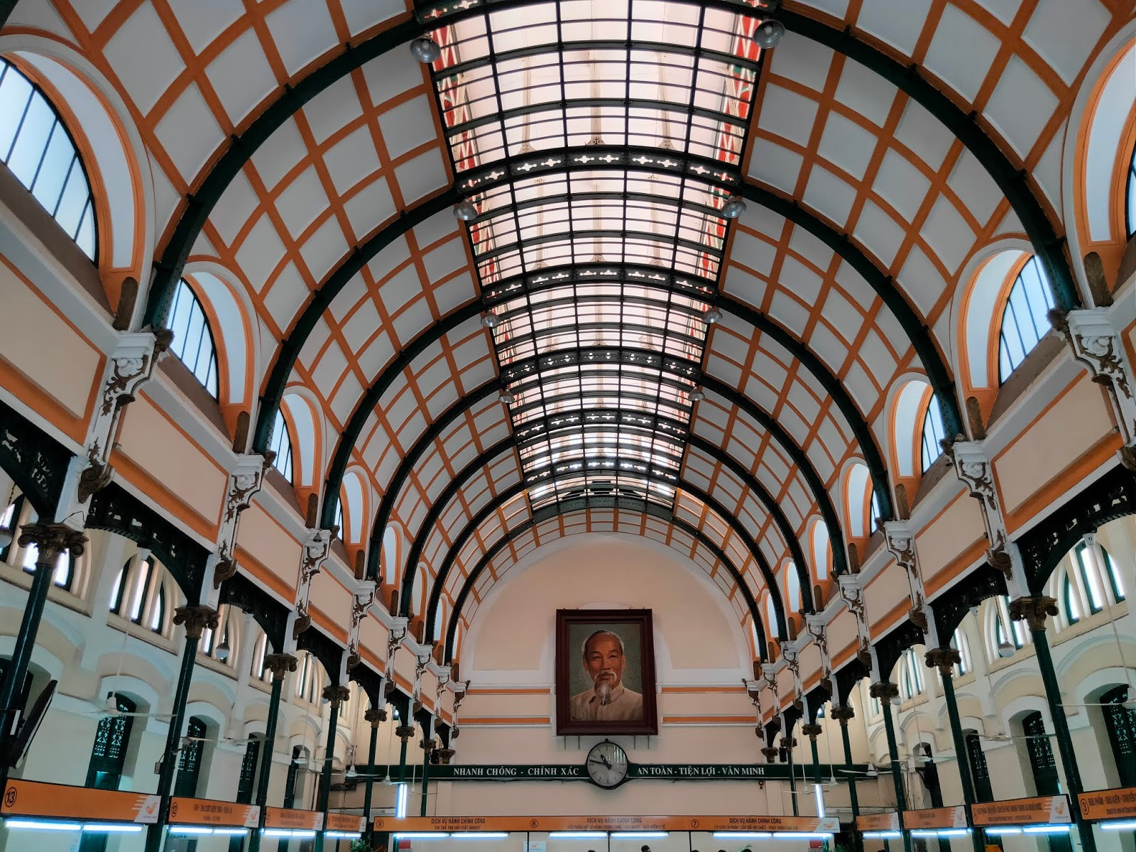 saigon post office interior