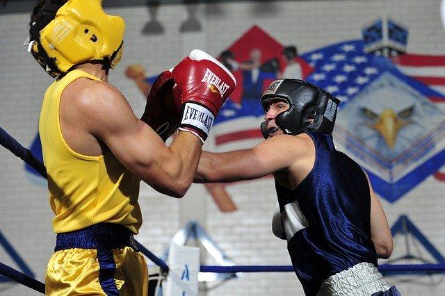 Kickboxen Sparring