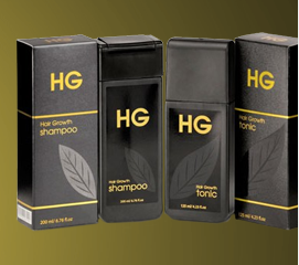 HG Shampoo & Hair Tonic For Men