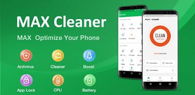 تثبيت تطبيق MAX Cleaner لتسريع وحماية هاتفك الأندرويد
