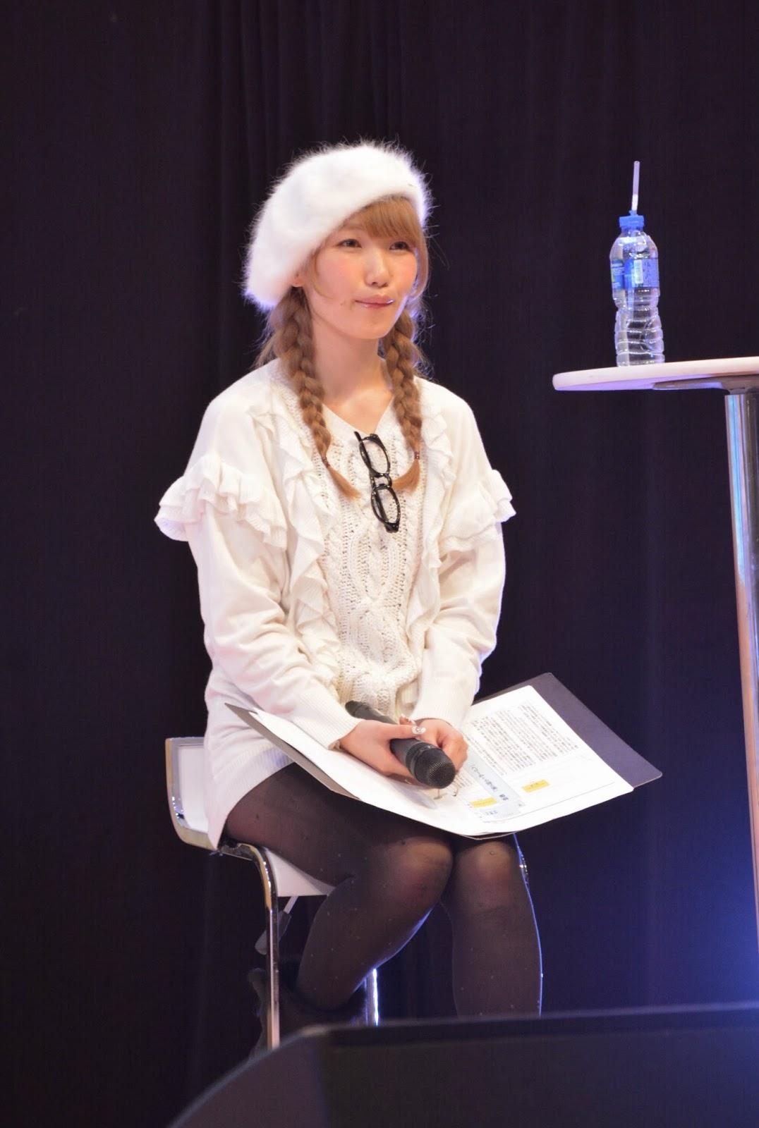 [C3HK] 內田彩有什麼話要對粉絲們說?   SOS BLOG:動漫生活方式