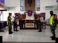 Sinergitas TNI-Polri Cegah Covid-19 di Tapal Batas