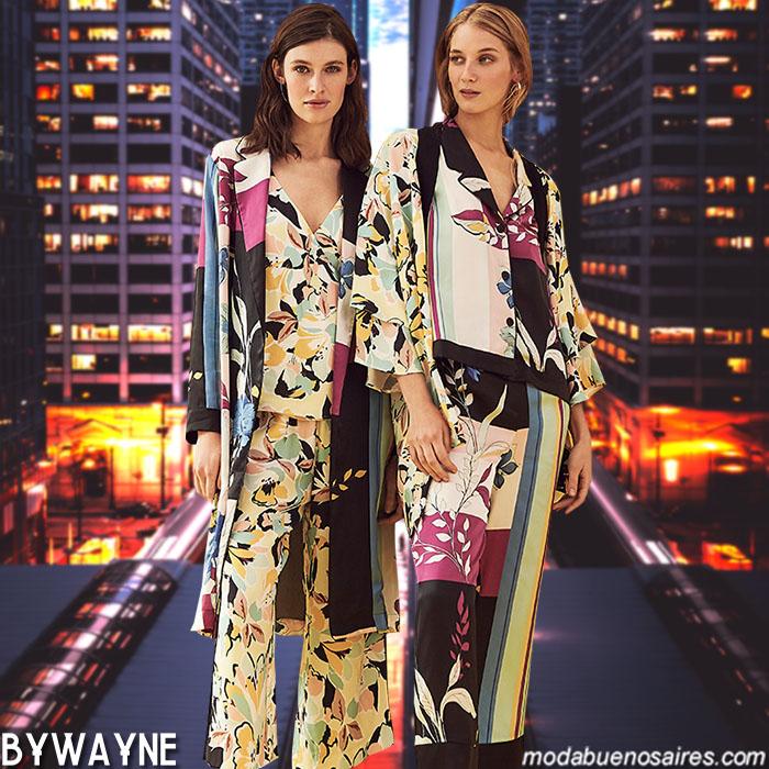 Moda primavera verano 2020 Argentina. Ropa de mujer: vestidos, monos, pantalones, blusas primavera verano 2020.