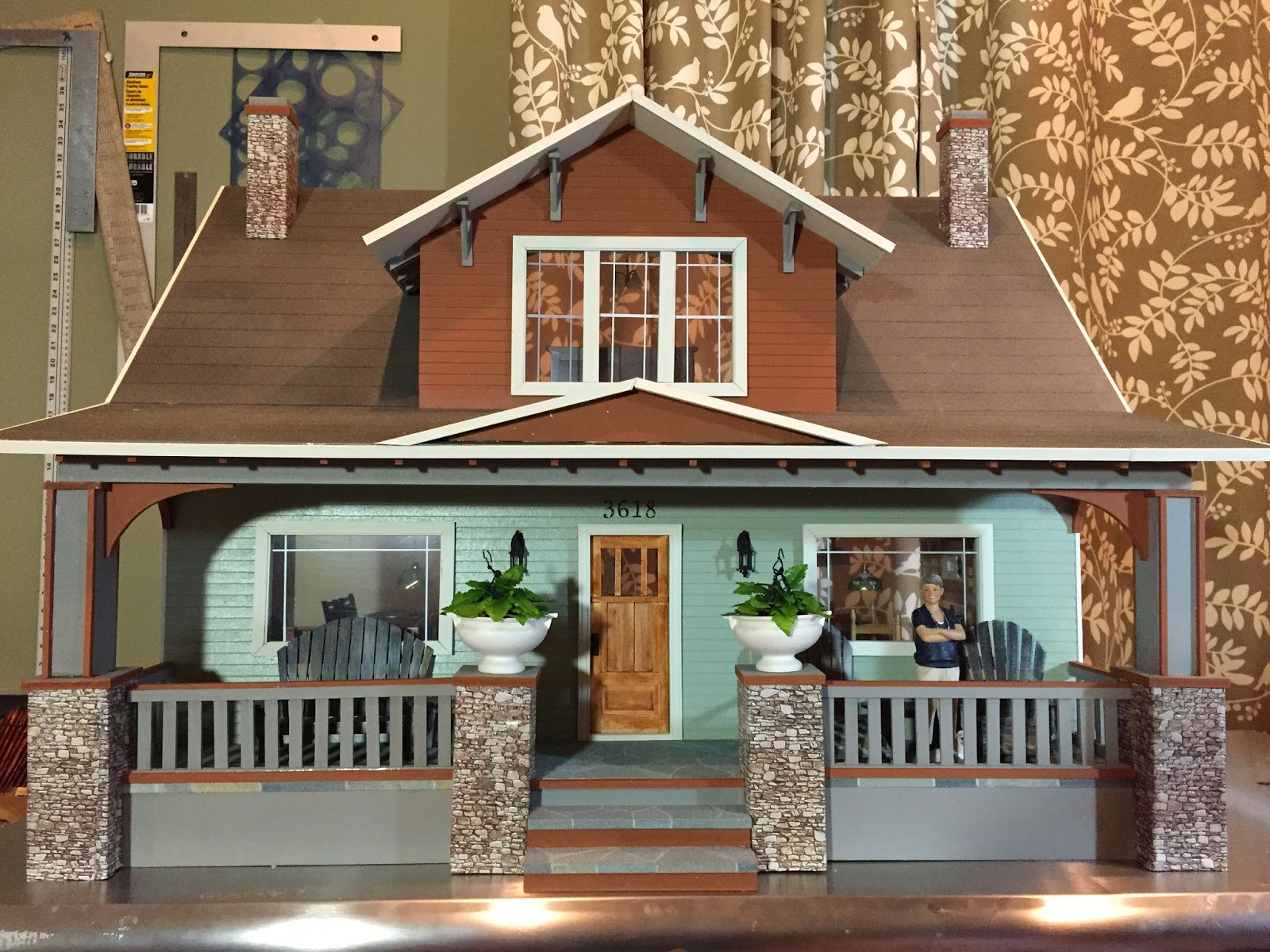 Exterior: Jocelyn's Mountfield Dollhouse: 99% Finished Midtown