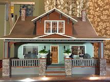 Jocelyn' Mountfield Dollhouse 99 Finished Midtown