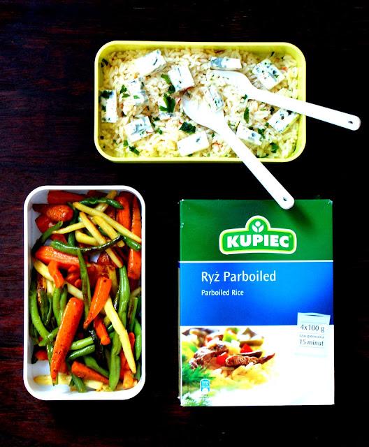 kupiec,zdrowa radosc zycia,ryz parboiled,danie lunchowe,lunch,dania w pudełku, z kuchni do kuchni,najlepszy blog kulinarny,katarzyna franiszyn luciano,dania z ryzem,dietetyczne dania z ryzem,dieta odchudzająca