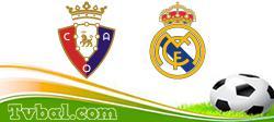 Osasuna vs Madrid