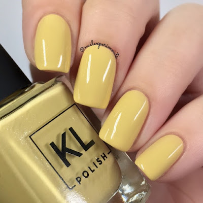 KL Polish Selene Ethereal Garden Collection Spring 2018 Swatch and Review Nail Experiments