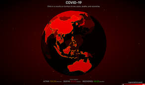 Corona virus New Updates All country territory to see cases deaths and recoveries