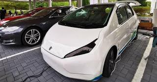 mobil listrik malaisya mirip honda jazz