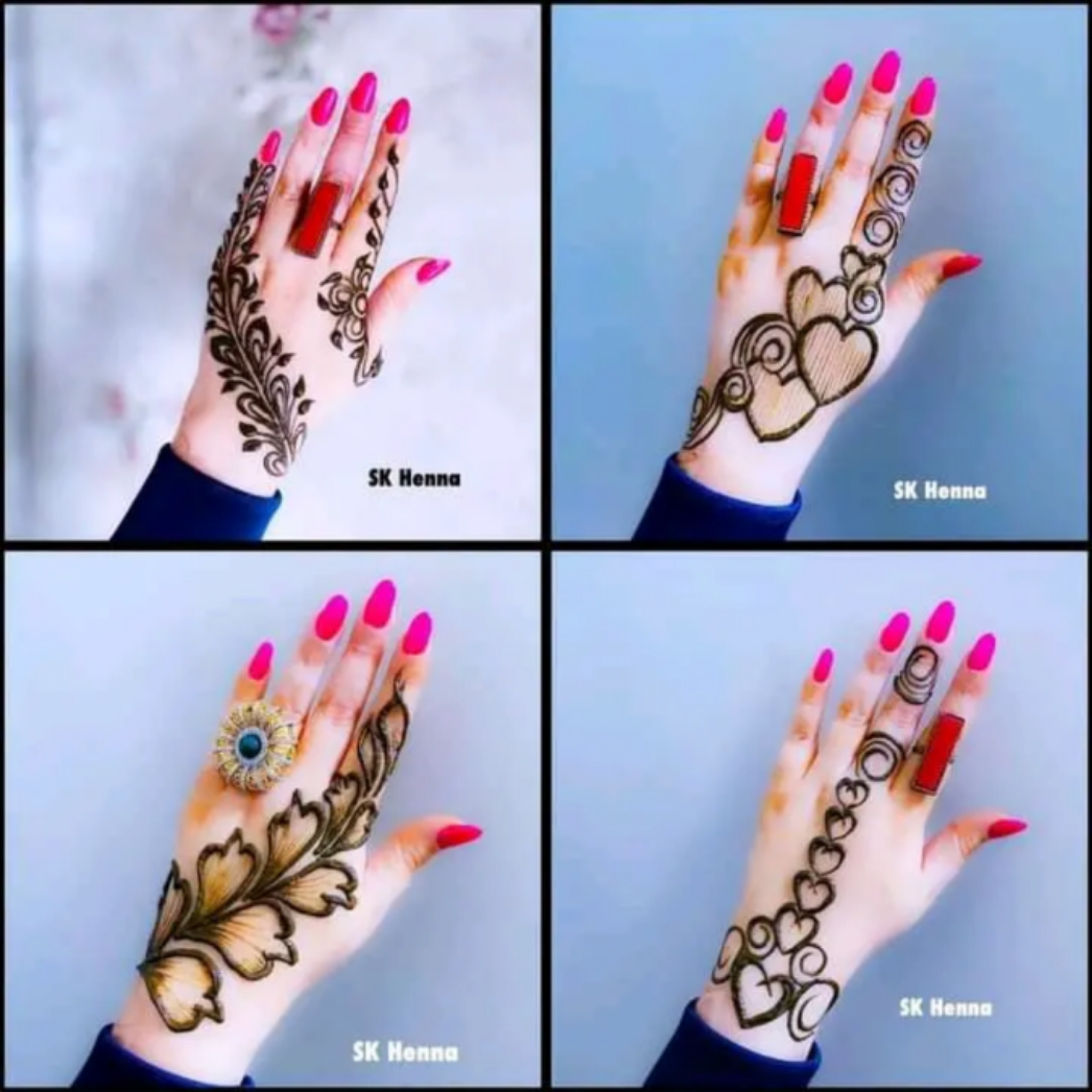 100+ Arewa Henna Designs For Wedding and VIP Events