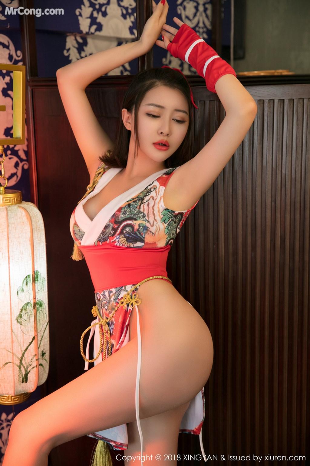 Image XingYan-Vol.028-MrCong.com-011 in post XingYan Vol.028: Người mẫu 廿十 (41 ảnh)