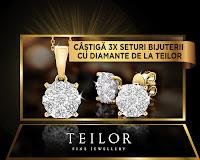 Castiga bijuterii de lux cu diamante