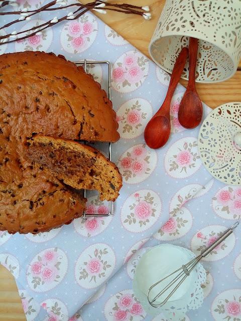 Galleta gigante con nibs de cacao. Cookie, chocolate, galletas caseras, desayuno, merienda, postre, con horno. Receta fácil, sencilla, rápida, Cuca