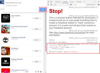 ✓ Cara Unlike Semua Fanspage  di Facebook dengan cepat