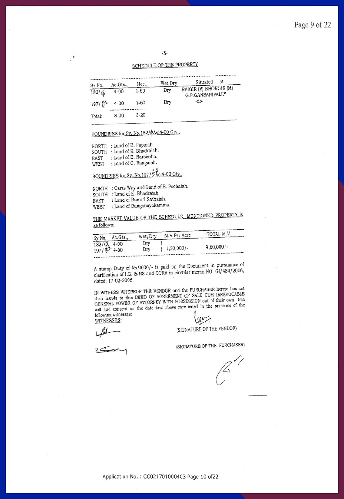 Agreement of Sale cum GPA date 2-8-2008-10
