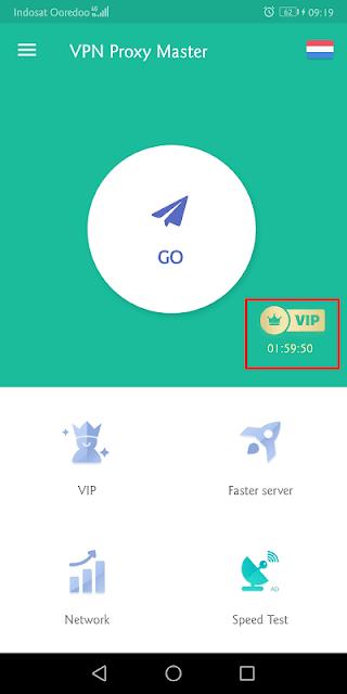 untuk mendapatkan vpn master vip gratis, pengguna harus melihat iklan video