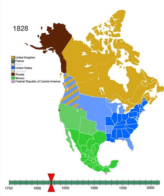 North american colonies timeline 1600 1735