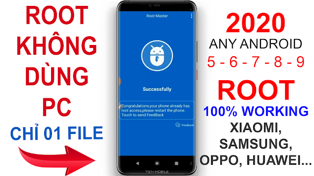 Update How to Root Any Android Phone without PC 2020 V2
