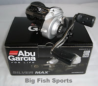 reel pancing baitcast abu garcia silver max 3 L