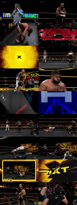 Screen Shot Of WWE NXT 17th July 2019 HDTV 480P 300MB