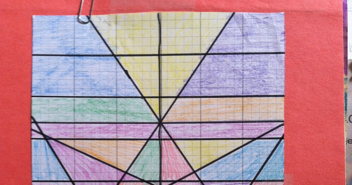 8 Is My Lucky Number Stained Glass Window Graphing Lines