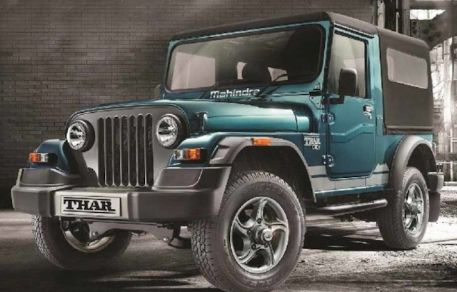 Signature edition mahindra Thar launch in india,get ABS system,