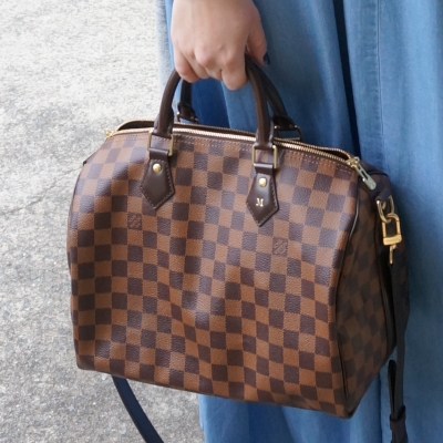 Louis Vuitton Speedy Bandouliere handheld | Away From Blue