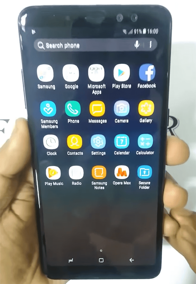 Samsung Galaxy A8+ (2018) w/ full screen dual selfie cam leaked