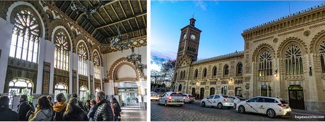 Estação de trens de Toledo, Espanha