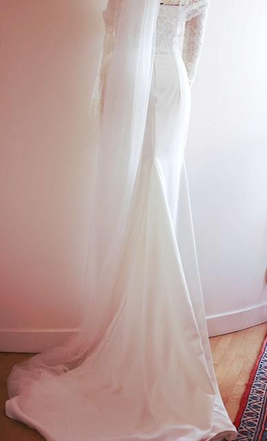 robe de mariée par créatrice à Versailles