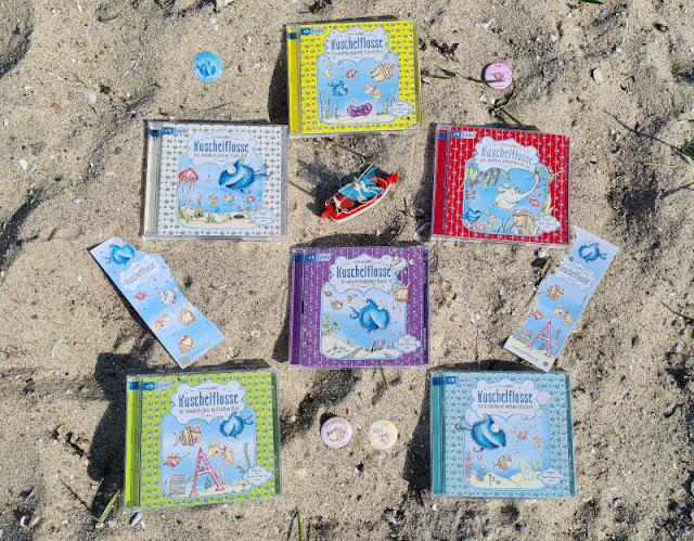 """Ahoi Fischhausen! Die """"Kuschelflosse""""-Kinderbücher und -Hörbücher. Als Hörbuch bzw. Hörspiel macht jedes Buch der Reihe für Kinder besonders Spaß!"""