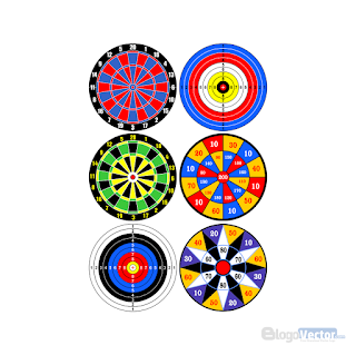 Dartboard Logo vector (.cdr)
