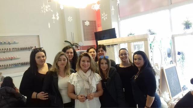 Επίσκεψη στο κατάστημα O'nail στο Ναύπλιο πραγματοποίησαν σπουδάστριες του ΙΕΚ ΟΑΕΔ ΑΡΓΟΛΙΔΑΣ